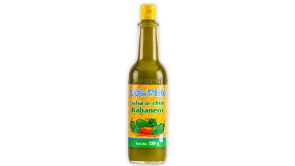 Salsa de Habanero verde Lol Tun 150ml