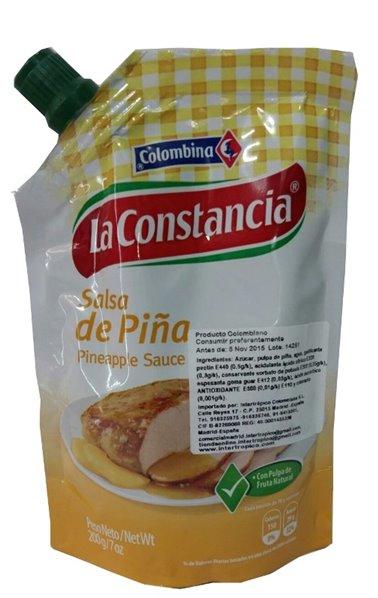 SALSA DE PIÑA LA CONSTANCIA X 200GRS