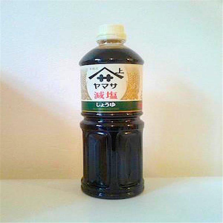 Salsa de soja baja en sodio 1 litro