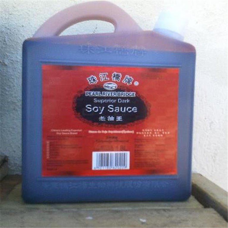 Salsa de soja oscura dark 1,8l