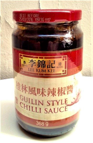 Salsa Guilin picante LKK