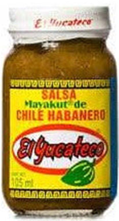 Salsa Mayakut Habanero El Yucateco 105ml