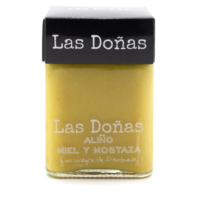 Salsa miel y mostaza Las Doñas 285gr