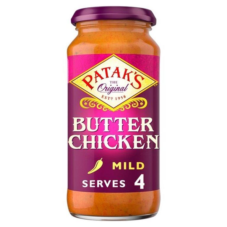 Salsa para Curry de Pollo a la Mantequilla 450g