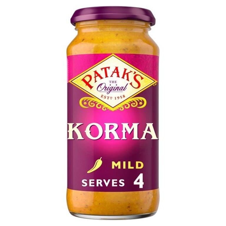 Salsa para Curry Korma 450g