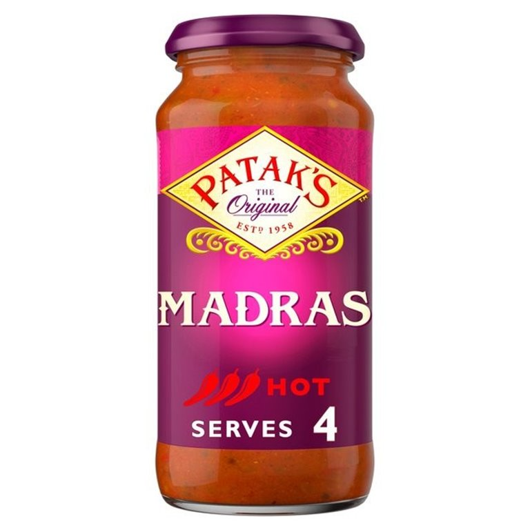 Salsa para Curry Madrás 450g