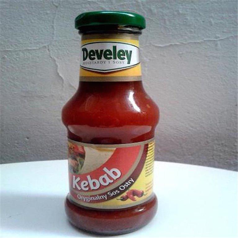 Salsa roja para kebab