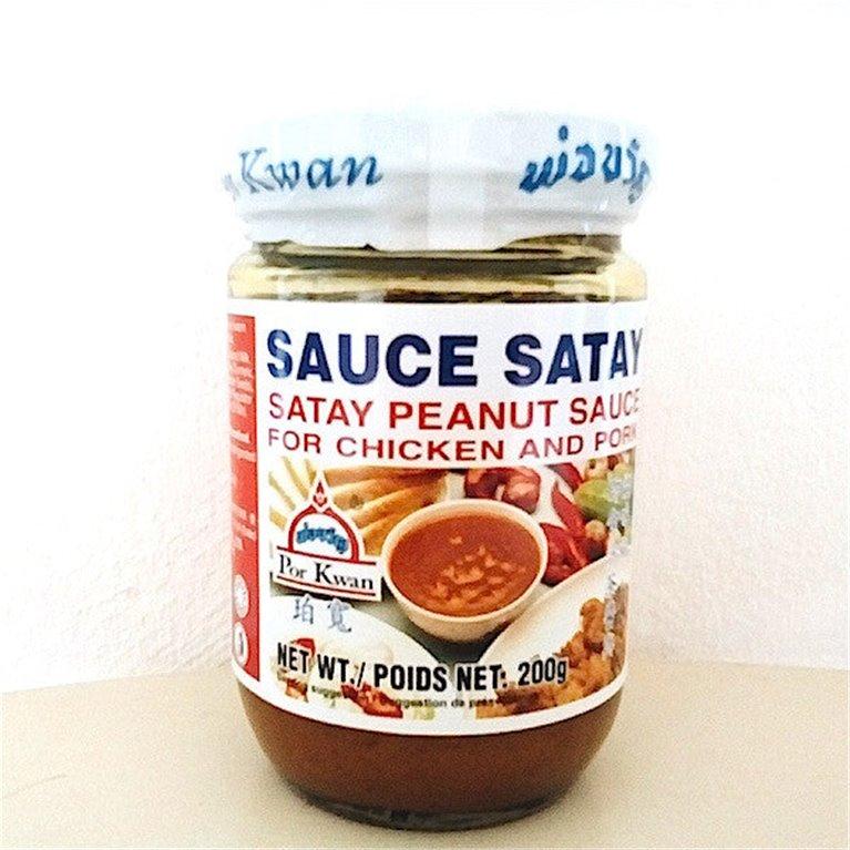 Salsa satay tailandia