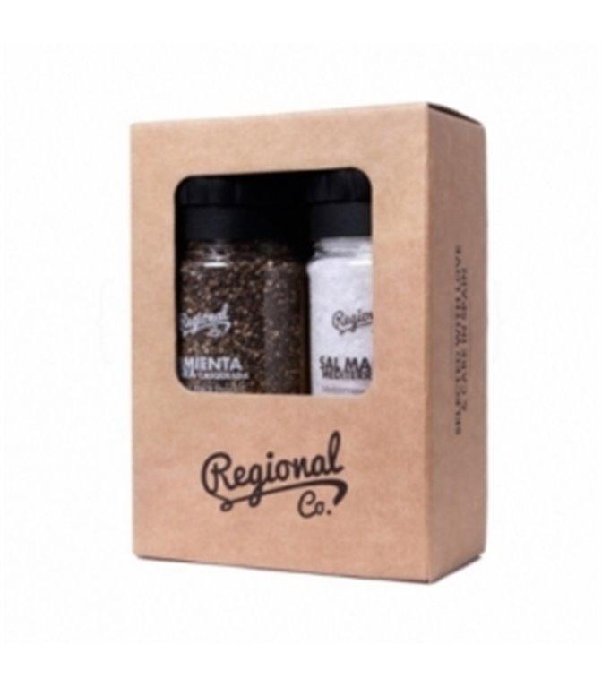 Salt & Pepper Box. Regional Co. 1un.