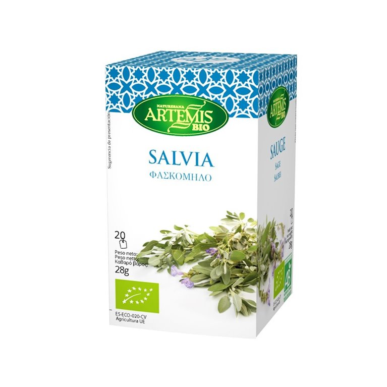 Salvia Infusión Eco 20 Filtros