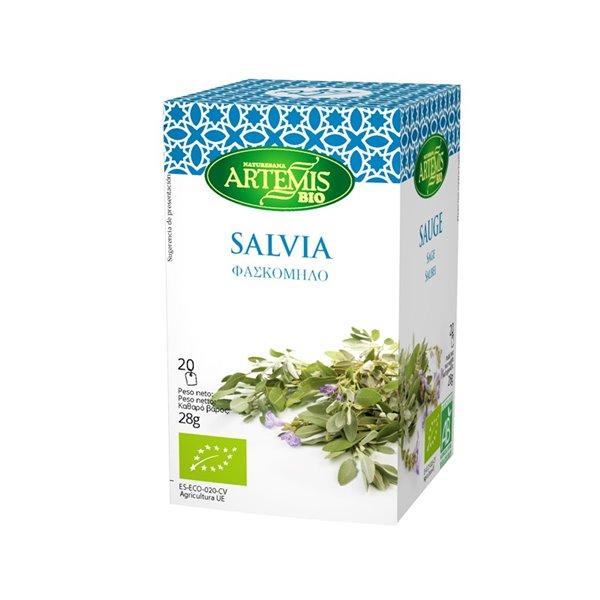 Salvia Infusión Eco Artemis 20 Filtros
