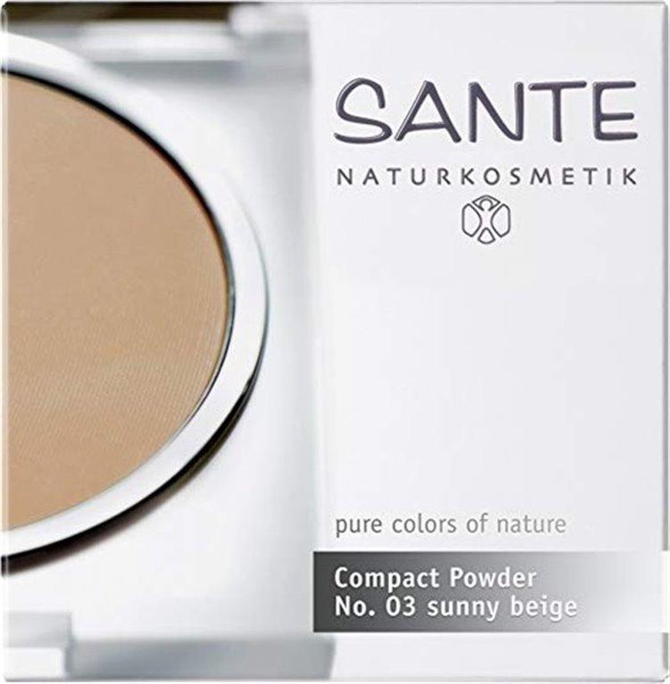 Sante Compacto Powder No.03 soleado Beige, 1 ud
