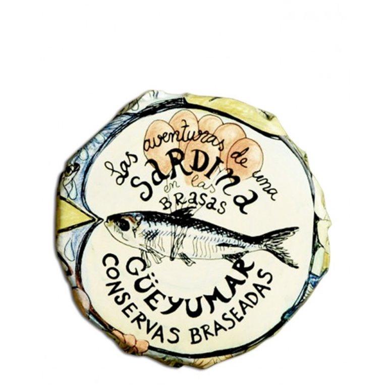 Sardinas a la Brasa Güeyumar, 1 ud