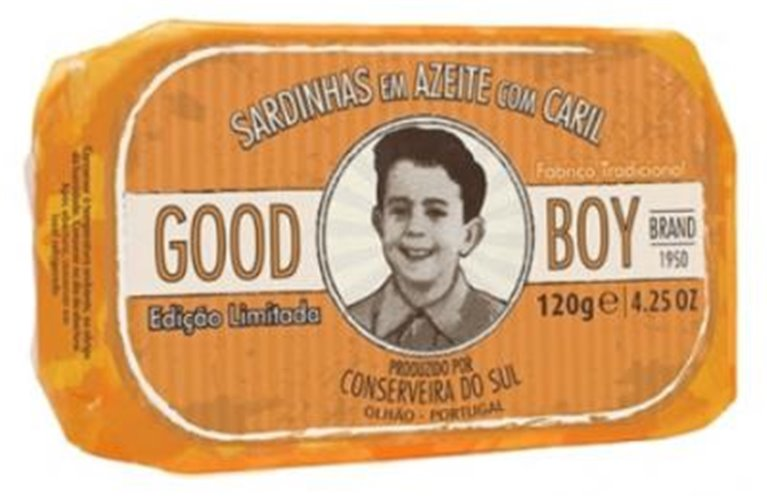 Good Boy Curried Sardines