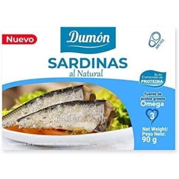 Sardinas al Natural 90 Gr · POS 3C