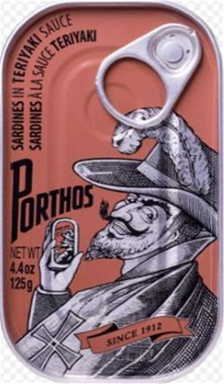 Sardines in teriyaki sauce Porthos