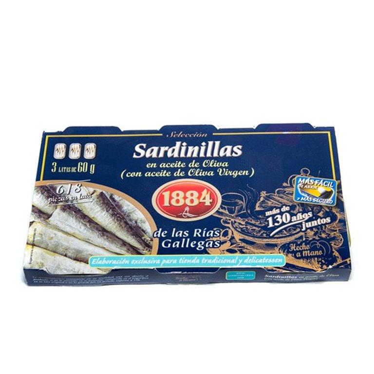 Sardinas pack 3, 1 ud