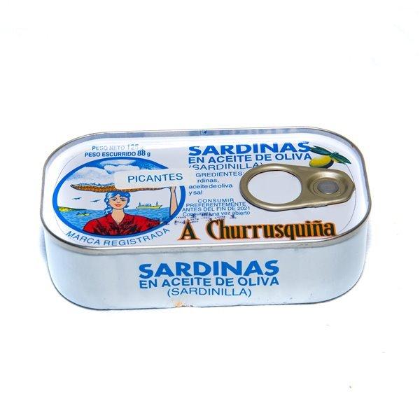Sardinilla picante 12/14 125 g