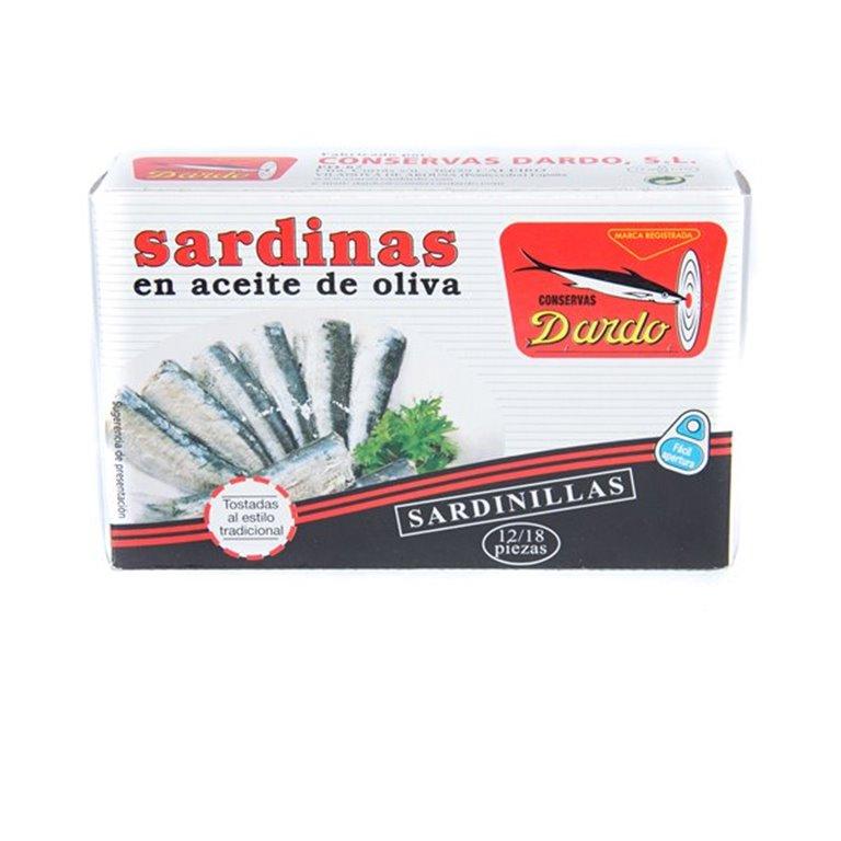 Sardinillas ac oliva