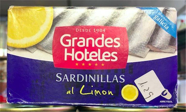 Sardinillas al limón