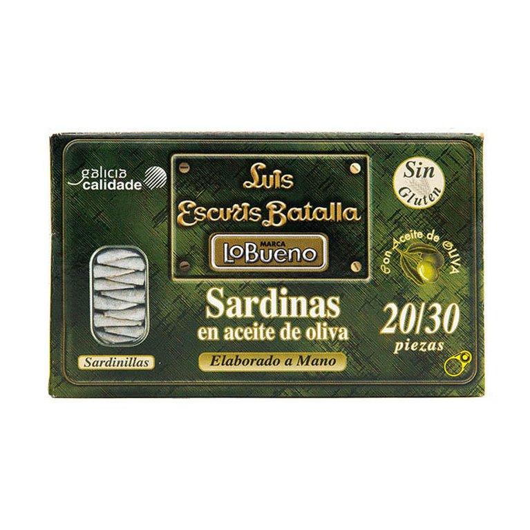 Sardinillas en aceite de oliva 20/30 115gr