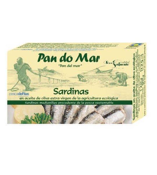 Sardinillas en aceite oliva - Pan do Mar