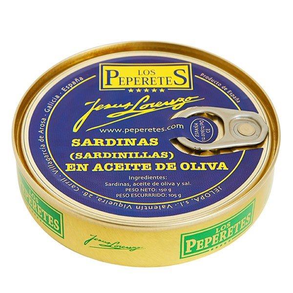Sardinillas en Aceite Peperetes 120 gr