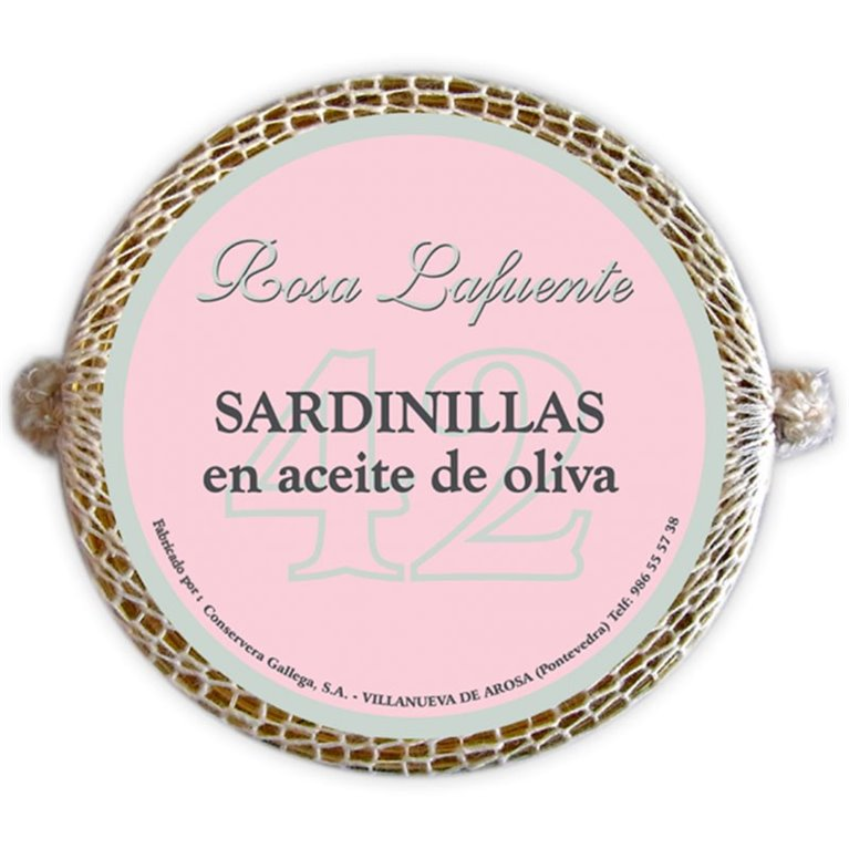 Sardinillas Gourmet en Aceite de Oliva