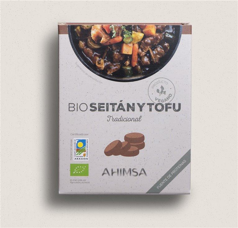 Seitán Tofu tradicional Bio Ahimisa 280gr