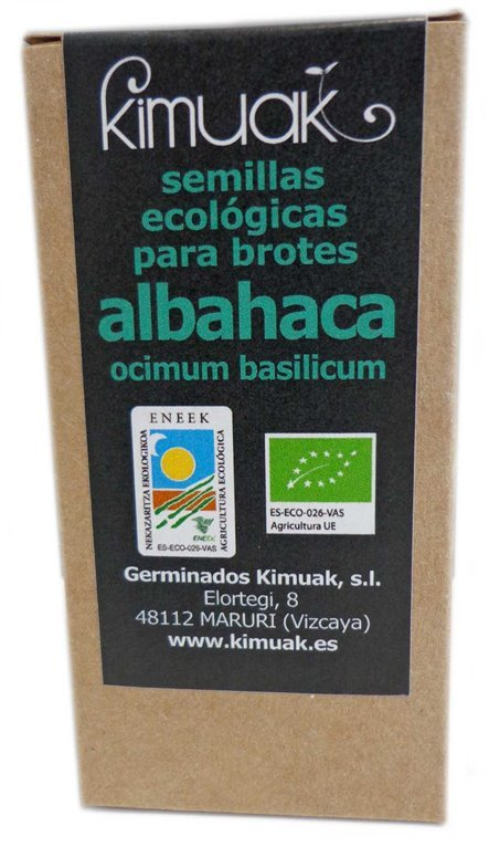 Semillas de Albahaca, 80 gr