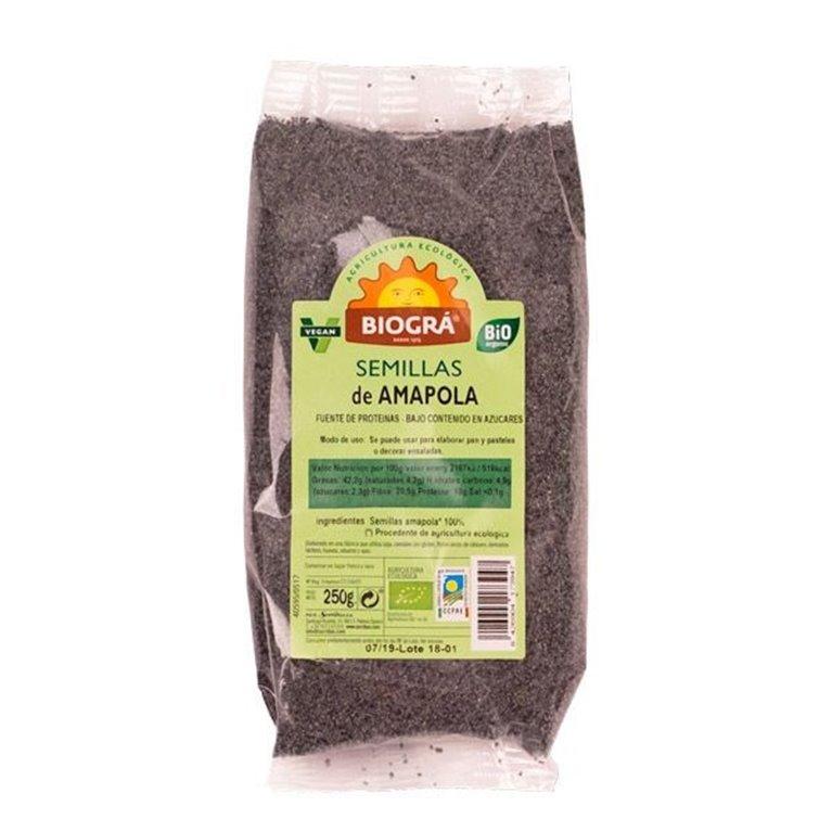 Semillas de Amapola Bio 250g