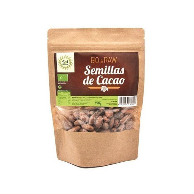 Semillas de cacao crudas Solnatural 150g