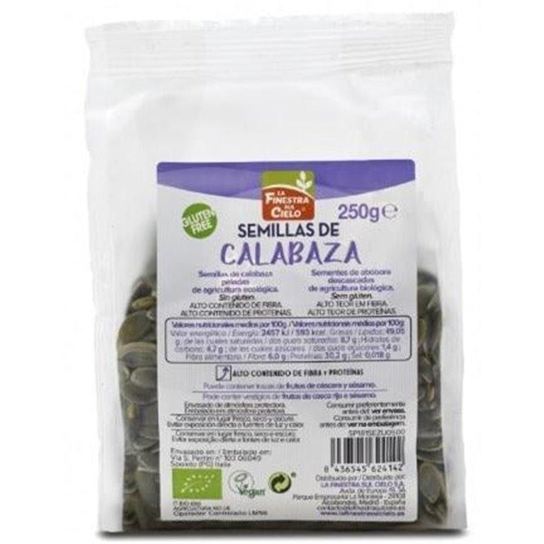 Semillas de Calabaza Bio 250g, 1 ud