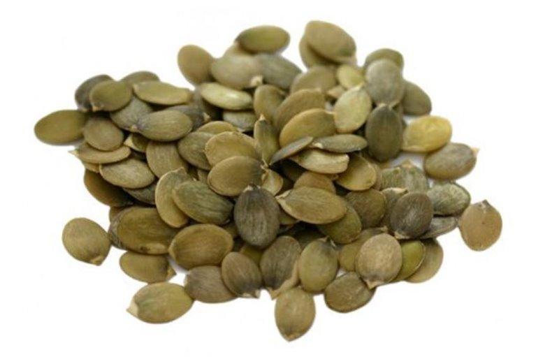 Semillas de calabaza cruda