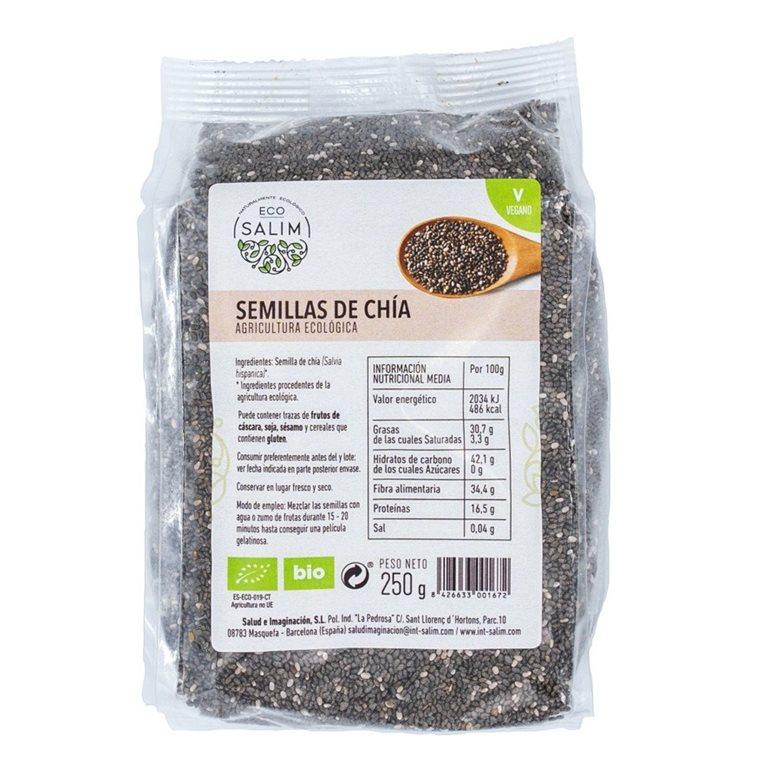 Semillas de Chía Bio 1kg