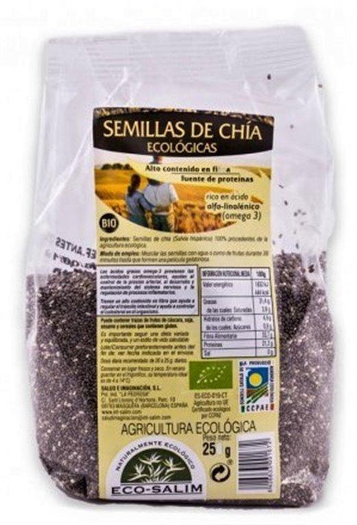 Semillas de Chía Bio 250g, 1 ud