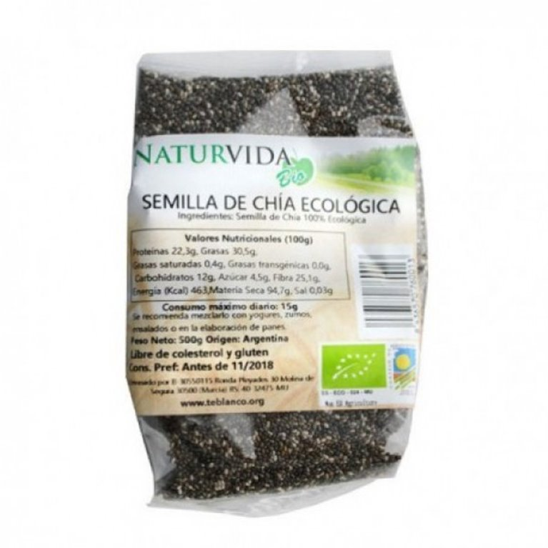 Semillas de Chia Bio 500g