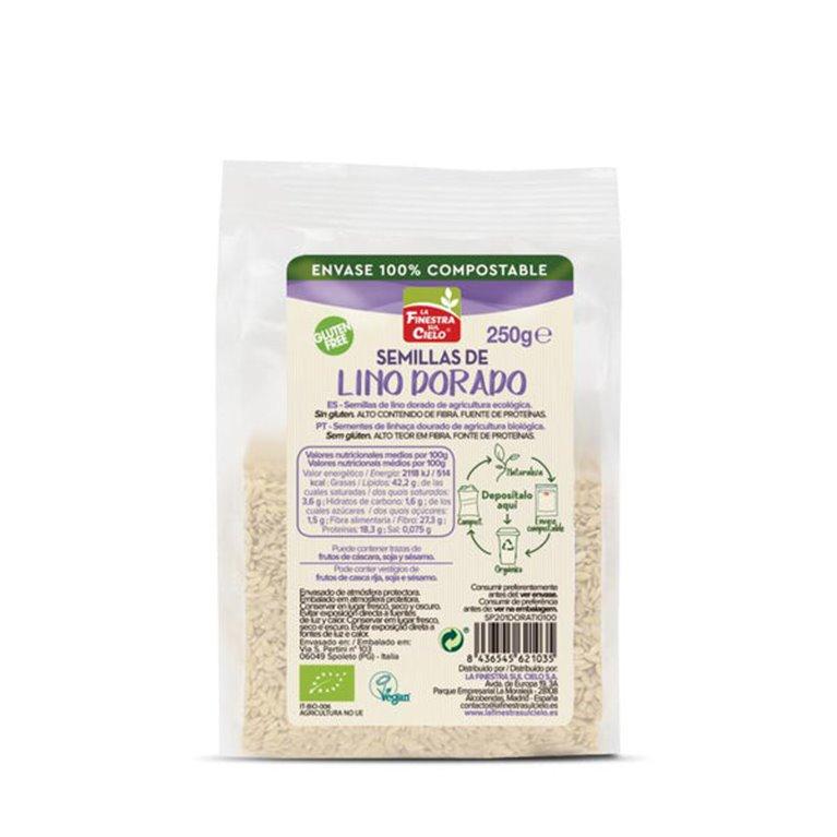 Semillas de Lino Dorado Bio 250g, 1 ud