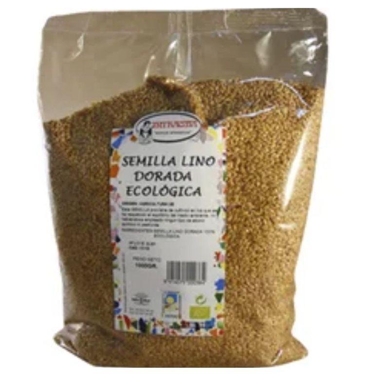 Semillas de Lino Dorado Bio 500g, 1 ud