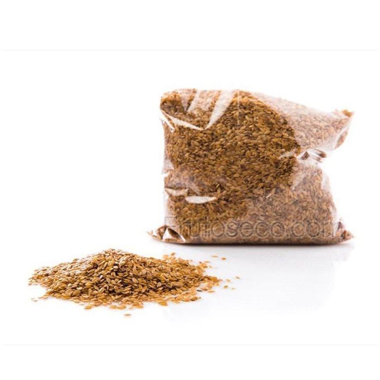 Semillas de lino dorado, bolsa 400 gramos, 1 ud