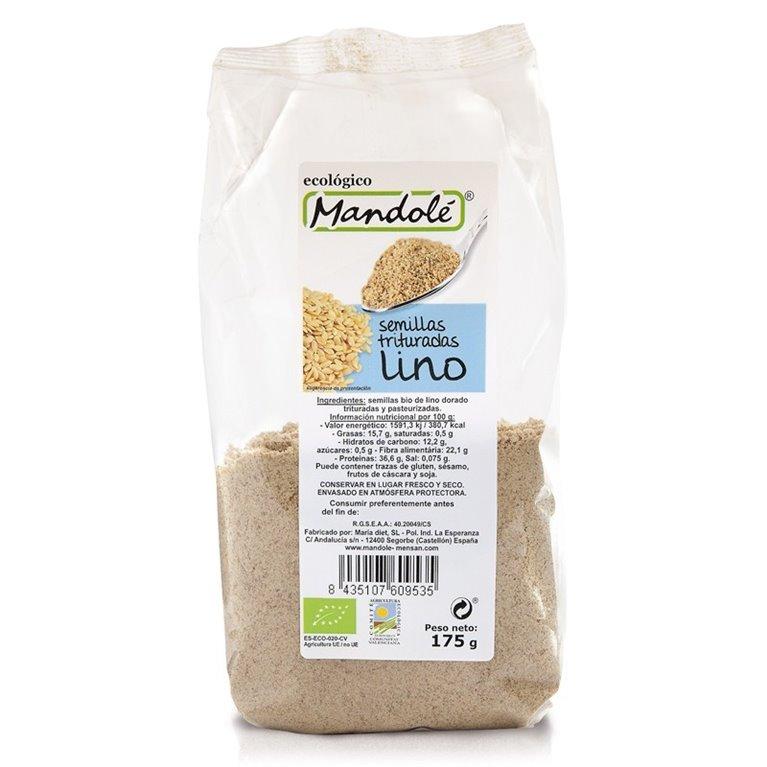 Semillas de Lino Dorado Molido Bio 175g