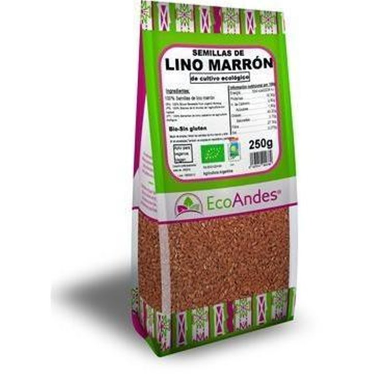 Semillas de Lino Marrón Bio 5kg