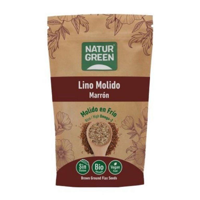 Semillas de Lino Marrón Molido Bio 225g