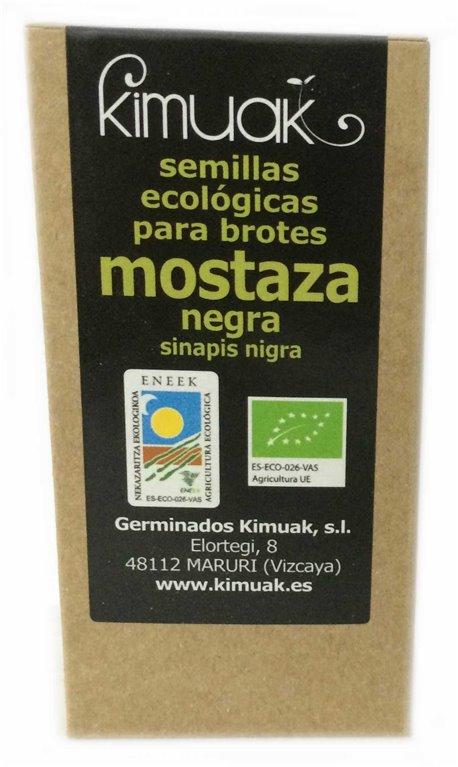 Semillas de Mostaza Negra, 80 gr