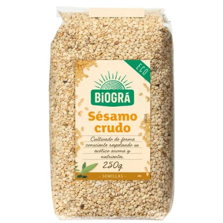 Semillas de Sésamo Crudo Bio 250g, 1 ud
