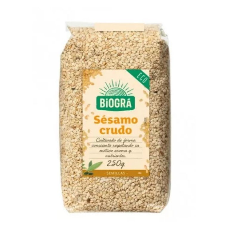 Semillas de Sésamo Crudo Bio 500g, 1 ud