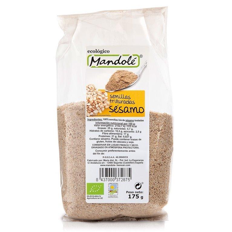 Semillas de Sésamo Molido Bio 175g