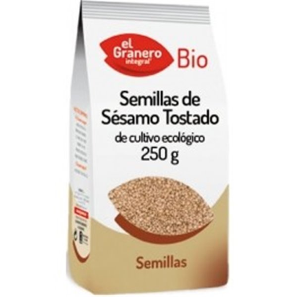 Semillas de Sésamo Tostado Bio 250g