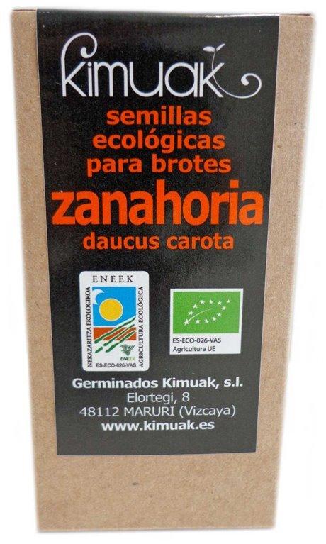 Semillas de Zanahoria, 60 gr