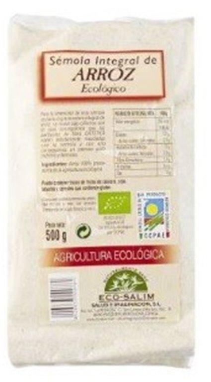 Sémola de Arroz Integral Bio 500g, 1 ud